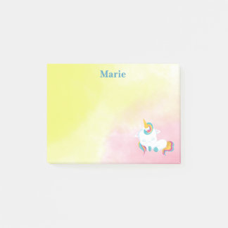 Unicorn Beauty Sleeping Post-it Notes