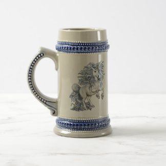 Unicorn Beer Stein