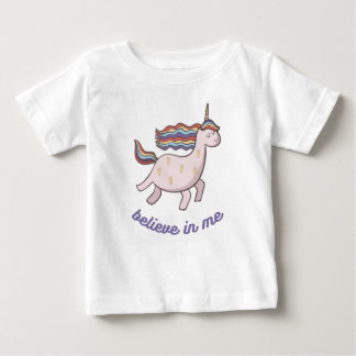 Unicorn Believe in Me Baby T-Shirt