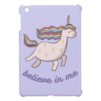Unicorn Believe in Me iPad Mini Cases