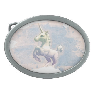 Unicorn Belt Buckle (Moon Dreams)