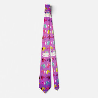 Unicorn Birthday Party Tie