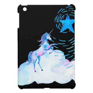 Unicorn black 1 iPad mini covers
