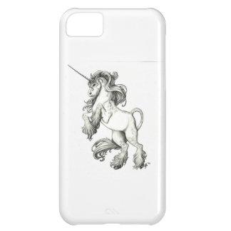 Unicorn black and white iPhone 5C covers