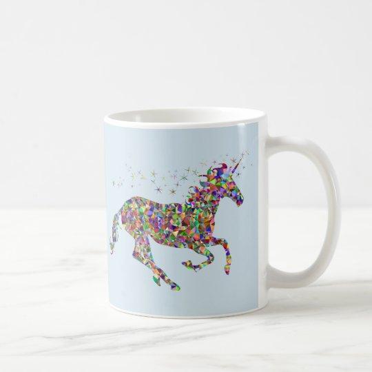Unicorn Blue Mug