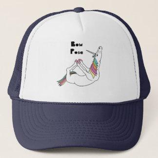 Unicorn Bow Pose Trucker Hat