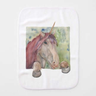 Unicorn Burp Cloth