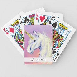 Unicorn by: Mendi Vernatter Bicycle Playing Cards