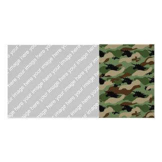Unicorn Camouflage Photo Card