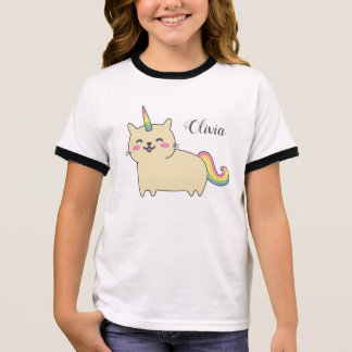 Unicorn Cat  Olivia Shirt