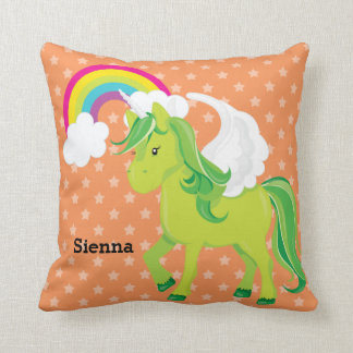 Unicorn * Choose your background color Cushions