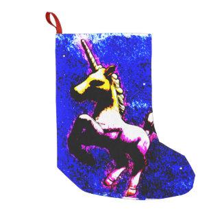 Unicorn Christmas Stocking (Punk Cupcake)