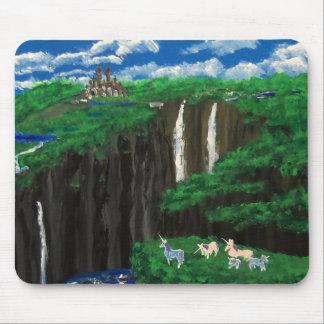 Unicorn Cliffs Family Mouse Pad