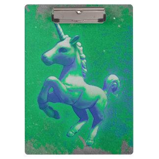 Unicorn Clipboard (Glowing Emerald)