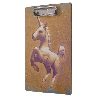 Unicorn Clipboard (Metal Lavender)