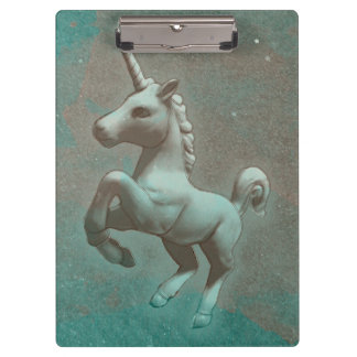 Unicorn Clipboard (Teal Steel)