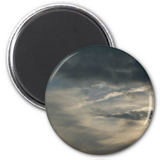 Unicorn Clouds Magnet