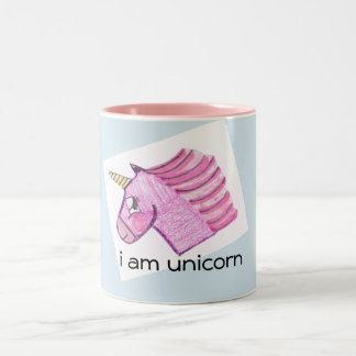 Unicorn coffee/tea mug. Two-Tone coffee mug