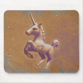 Unicorn Computer Mouse Pad (Metal Lavender)