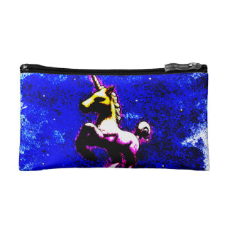 Unicorn Cosmetic Bag Clutch (Punk Cupcake)