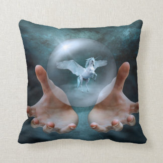 Unicorn - Crystal Ball Cushion