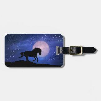 Unicorn Custom Luggage Tag