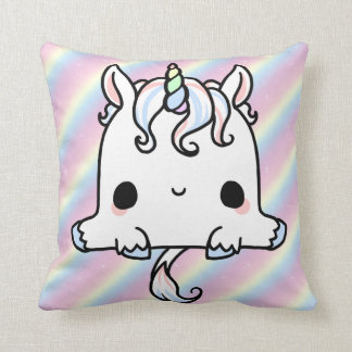 Unicorn Cutie Throw Pillow
