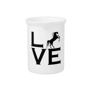 unicorn design pitcher