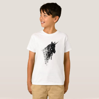 Unicorn design White Kids T-shirt