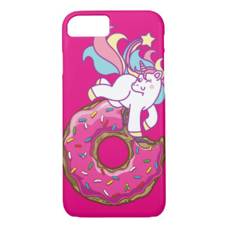 unicorn & donut iPhone 8/7 case