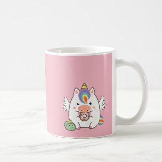 Unicorn & Donuts Coffee Mug