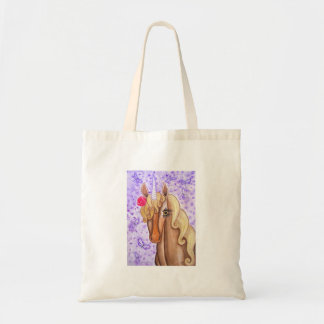 Unicorn & Dragonflies Tote Bag