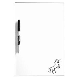 Unicorn Dry Erase Board