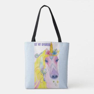 Unicorn: Eat My Sparkles Tote Bag