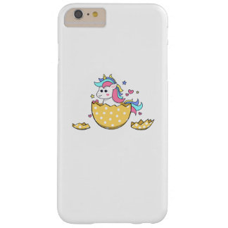 Unicorn Egg Easter Cute Kids Girls Barely There iPhone 6 Plus Case