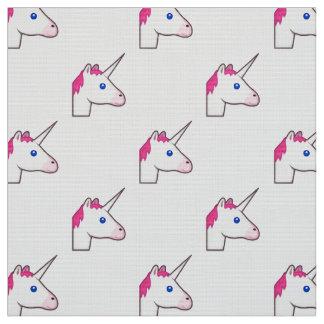 unicorn emoji fabric