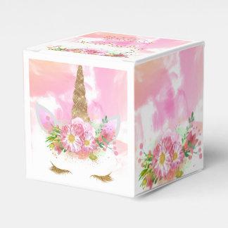 Unicorn Face Favor Bag Favour Box