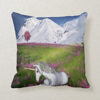unicorn fantasy cushion