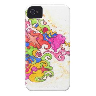Unicorn Fart iPhone 4 Cover