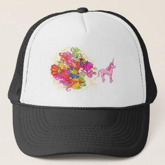 Unicorn Fart Trucker Hat