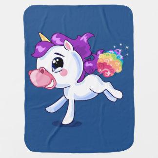 Unicorn Farts Buggy Blanket