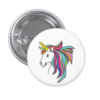 Unicorn Flare 3 Cm Round Badge