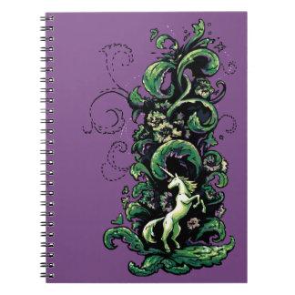 Unicorn Flourish Notebook