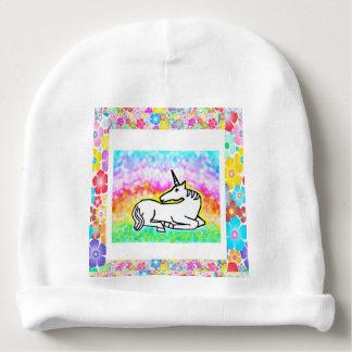 Unicorn Flowers - Baby Hat Baby Beanie
