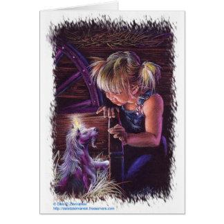 Unicorn Foal Card
