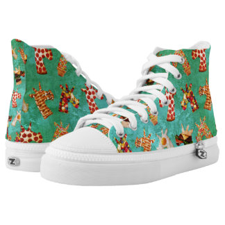 Unicorn Food High Tops