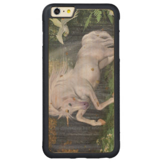 Unicorn Forest Stars Cristal Blue Carved® Maple iPhone 6 Plus Bumper Case