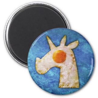Unicorn Fried Egg Magnet