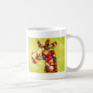 Unicorn Fruit Salad Coffee Mug