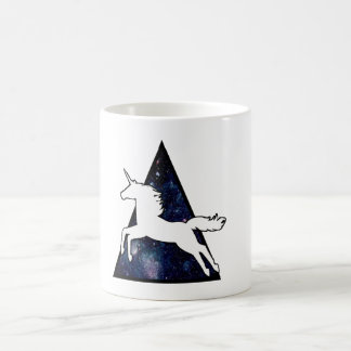 Unicorn galaxy coffee mug